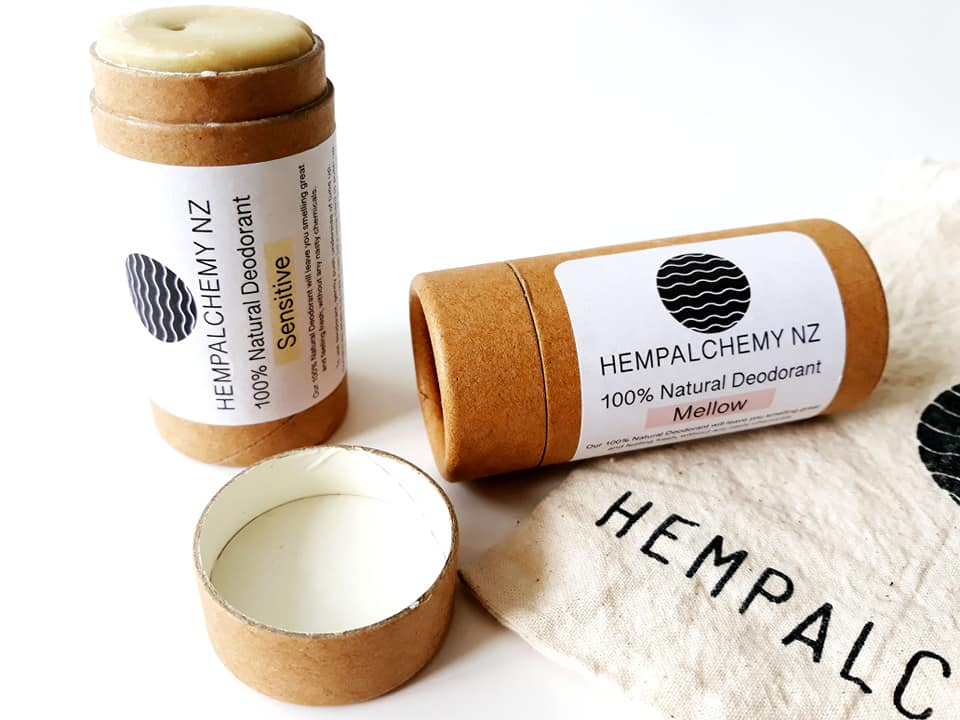 review] Eco-friendly deodorants from HempAlchemy